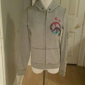 Victoria Secret pink zip up jacket
